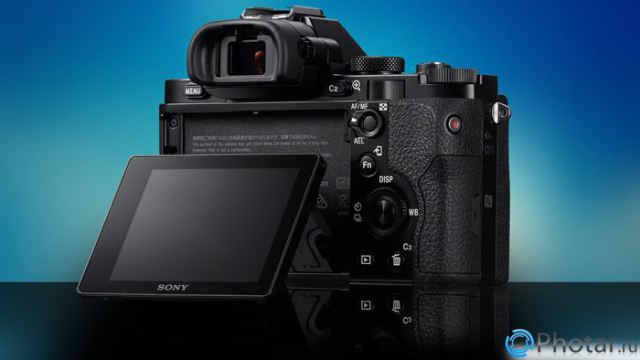 sony alpha ILCE-7 back