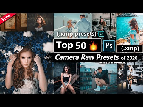 Download Free Top 50 Camera Raw Presets of 2020