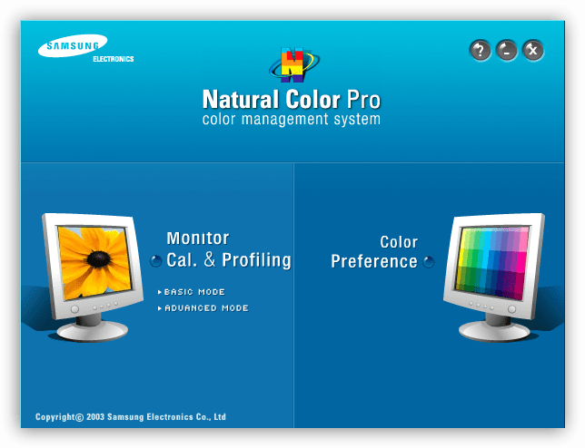 Программа для калибровки монитора Natural Color Pro