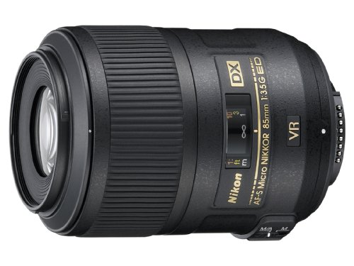 Nikon AF-S DX Micro NIKKOR 85mm f/3.5G ED Vibration Reduction Fixed Zoom Lens with...