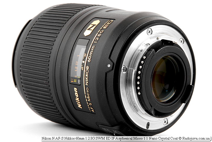 Nikon N AF-S Nikkor 60mm 1:2.8G SWM ED IF Aspherical Micro 1:1 Nano Crystal Coat